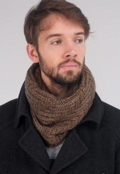 Стильный мужской шарф-хомут