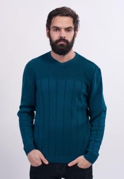 Джемпер мужской стуктурной вязки