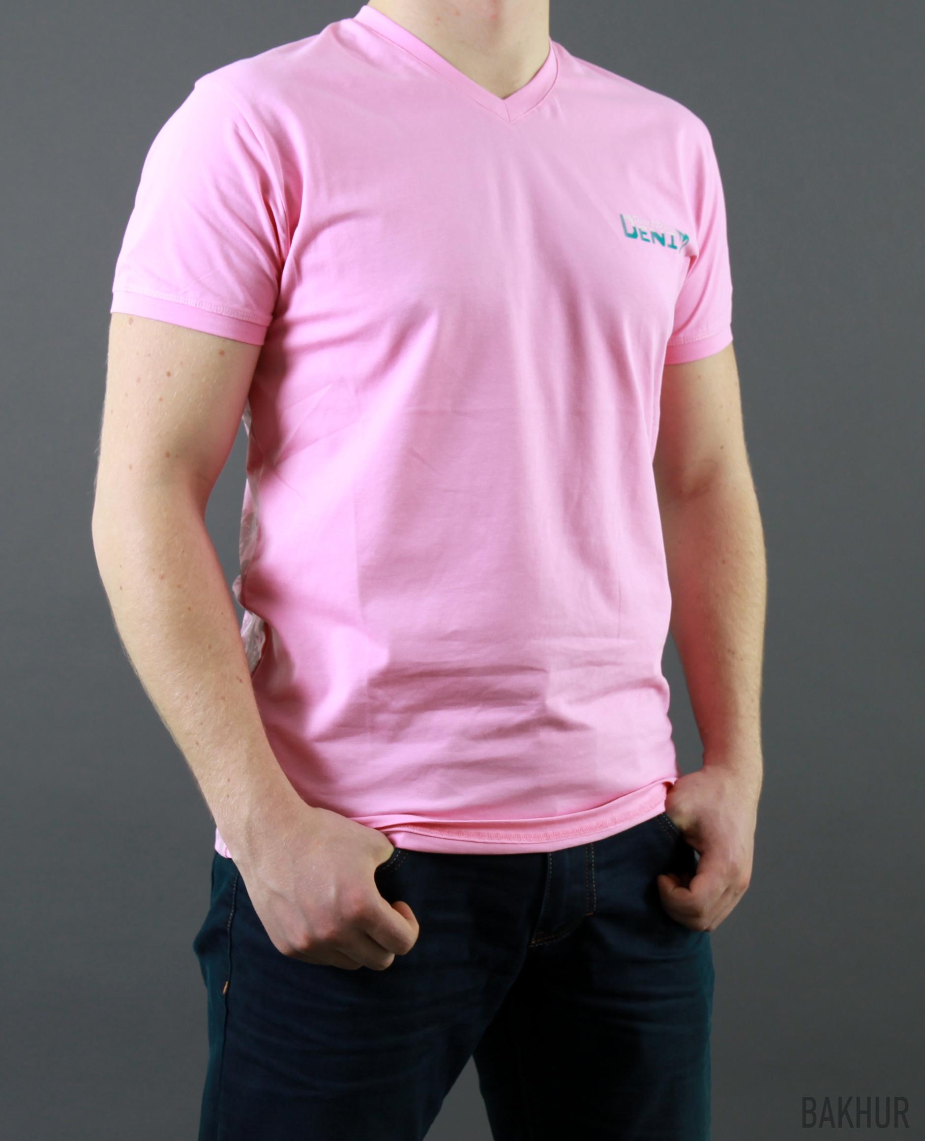 футболка стрейч печать