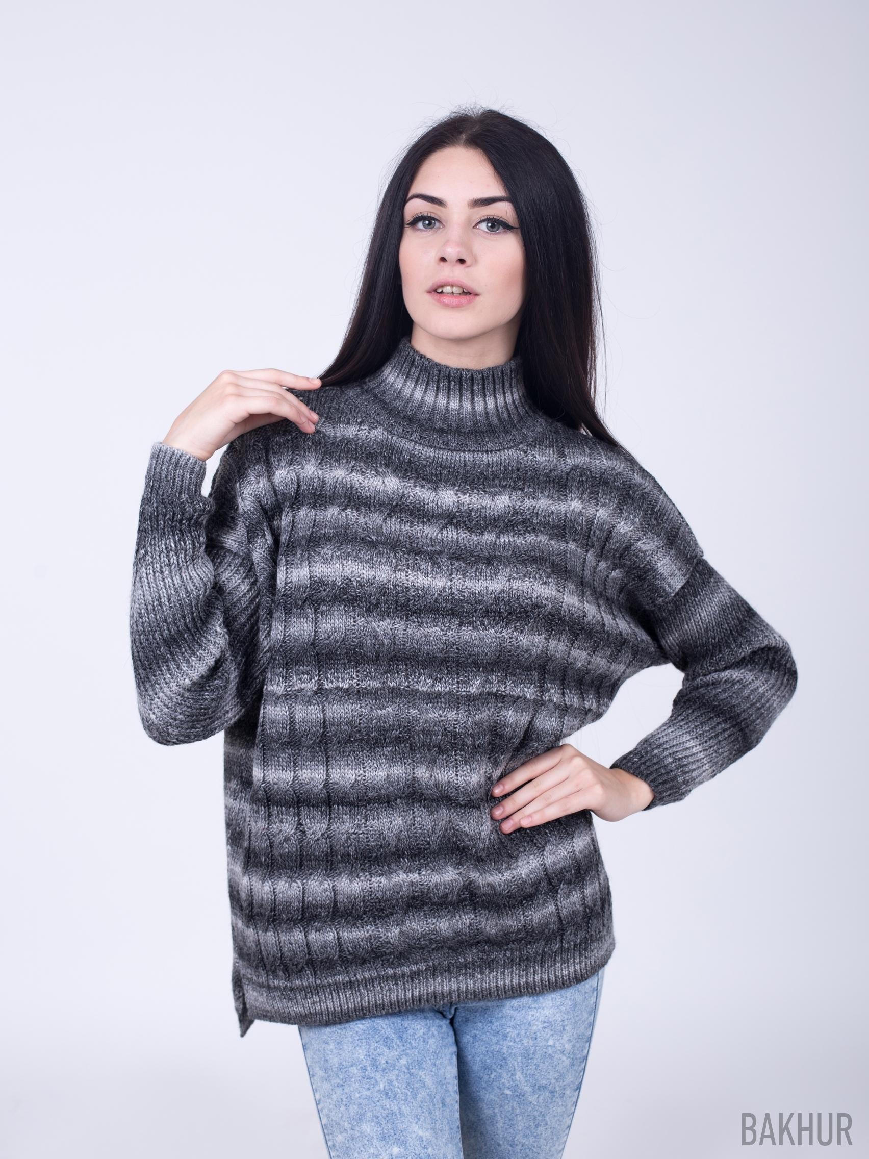 Женские свитера из меланжевой пряжи с доставкой