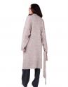 Вязанное пальто oversize